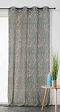 Linder Paisley Net Curtain with Eyelets 150 x 255