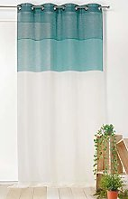 Linder Panel Curtain with Eyelets 145x260 Blue