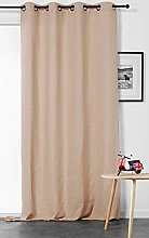 Linder Panel Curtain with Eyelets, Polyester,