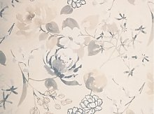 Linder Patricia Curtain, Printed, with Eyelets
