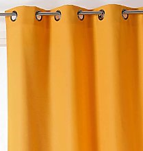 Linder Polyester Curtain 135 x 240 Yellow