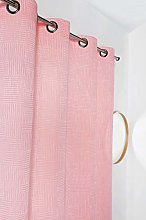 Linder Polyester Curtain 140 x 240 Pink