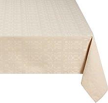 Linder Rectangular Mexico Tablecloth, beige, 165 x