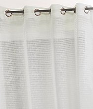 Linder Stripe Eyelet Curtain 145x 240cm,