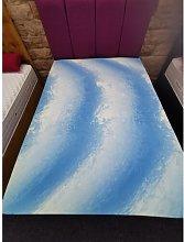 Lindley 4cm Memory Foam Mattress Topper Symple