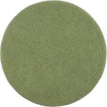 Linéa Chair Pad Cushion Myfelt Colour: Green