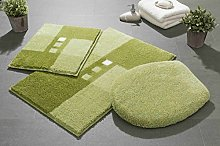 Linea Due bath rug, ultra soft and absorbent, anti