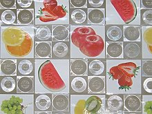 Linea Hogar Deco Fruits Vinyl Printed Tablecloth