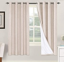 Linen Blackout Curtains 72 Inches Long 100%