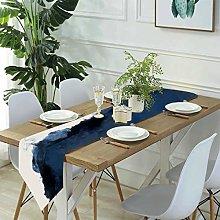 Linen Burlap Table Runner Dresser Scarves,abstract