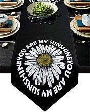 Linen Burlap Table Runner Dresser Scarves,