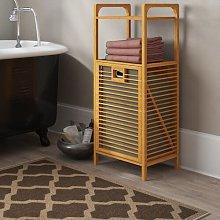 Linen Cabinet Laundry Bin Symple Stuff