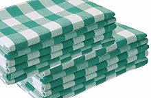 Linen Clubs 12Pack 100% Cotton Yarn Dyed Gingham