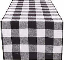 Linen Clubs Buffalo Check Table Runner 16x108