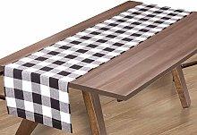 Linen Clubs Buffalo Check Table Runner 16x90