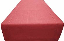 Linen Clubs Slub Cotton Table Runner with