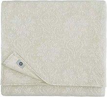 Linen & Cotton Jacquard Damask Tablecloth Table