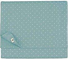 Linen & Cotton Polka Dot/Spotty Tablecloth ANTEA,