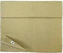 Linen & Cotton Rectangle Table Runner Aurum - 74%