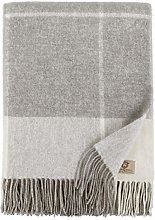 Linen & Cotton Soft Checked Throw/Blanket Olivia