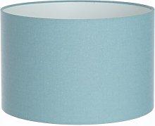 Linen Drum Lamp Shade Brayden Studio Colour: Duck