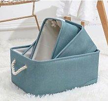 Linen Fabric Laundry Basket Storage Laundry Basket