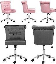 Linen Lift Swivel Adjustable Office Chair Computer
