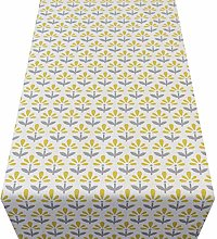 Linen Loft Tiny Scandi Flower Table Runner. Dainty