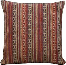 Linen Loft Turkish Style Woven Striped Cushion in
