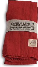Linen Napkin - Real Red