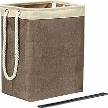 Linen Storage Basket Laundry Basket with Handle