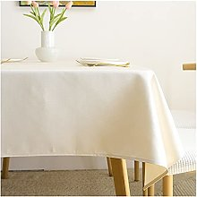 Linen Tablecloth Pure Color Table Cloth for
