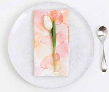 Linen Tales - Linen Napkins Set of 2 Floral