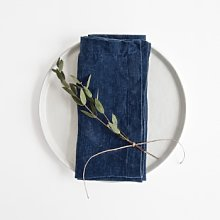 Linen Tales - Set of 2 Washed Linen Napkins -