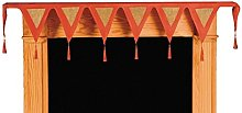 LINEN702 CHRISTMAS MANTLE RUNNER 12 x 72 INCH (33