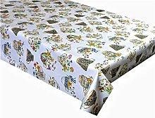 LINEN702 Oilcloth Tablecloth 1.5 Metres