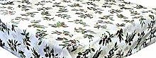 LINEN702 Oilcloth Tablecloth 54 inch Round (137cm)