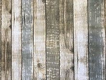 linen702 Rustic Wood Effect Vinyl Tablecloth |