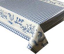 LINEN702 Vinyl Pvc Tablecloth 3 metres (300x137cm)
