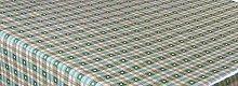 LINEN702 Vinyl Pvc Tablecloth 54 inch Round