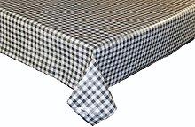 linen702 Vinyl Pvc Tablecloth Charcoal Grey and