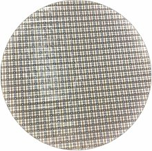 LINEN702 Vinyl Pvc Tablecloth Grey and Cream Check