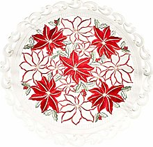 Linens, Art and Things Embroidered Christmas