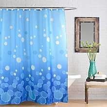 Linens Limited Circles Shower Curtain, Blue