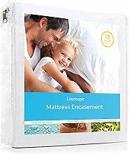 Linenspa, Mattress Encasement Zippered Waterproof,