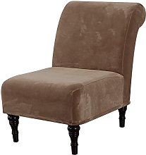 LINFKY Armless Accent Chair Cover Slipcover, High