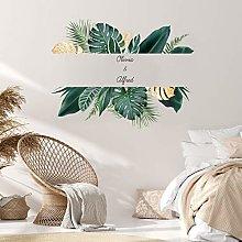 LING YUN Co,Ltd English Green Plants Big Leaves