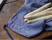 Linge Particulier - Blue chambray Linen Dishtowel