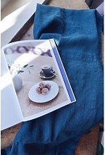 Linge Particulier - Duck Blue Linen Classic Apron