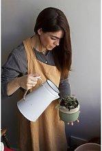 Linge Particulier - Hazelnut Linen Japanese Apron